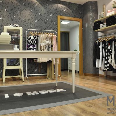 Proyecto de Diseño de Interiores y reforma de tienda vintage de ropa en Sestao (Vizcaya)