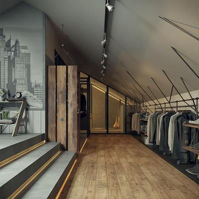 Proyecto de interiorismo: Rec Room