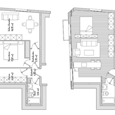Proyecto de reforma de apartamento