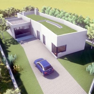 Proyecto de vivienda unifamiliar aislada, en urbanización mont Jarque.