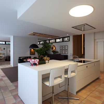 Espectacular proyecto de una vivienda adaptado a la personalidad de sus propietarios