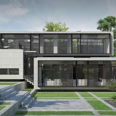 Proyecto de vivienda unifamiliar LC