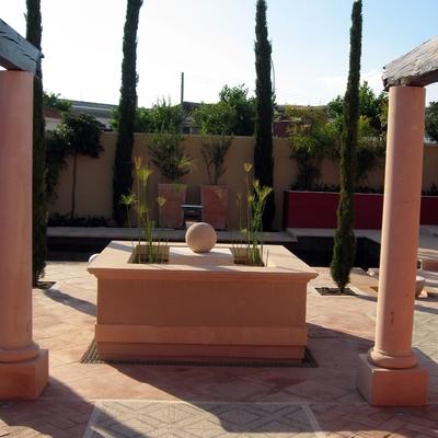 Proyecto construcción jardin