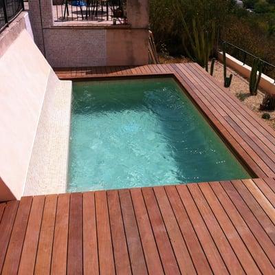 Precio construir muro hormig n habitissimo for Costo de construir una piscina
