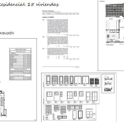 Proyecto Arquitectonico 15 viviendas