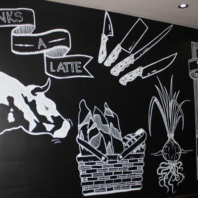 Proyecto-restaurante-Holiday-Village-mural-1