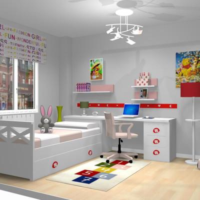 Trebol Mobiliario Infantil - Diseño Moderno Para El Hogar - Nevbank.com