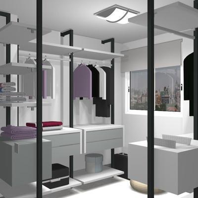 Proyecto Vestidor de Muebles JJP Colección No Limits