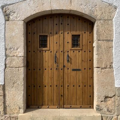 Restauración de puerta madera