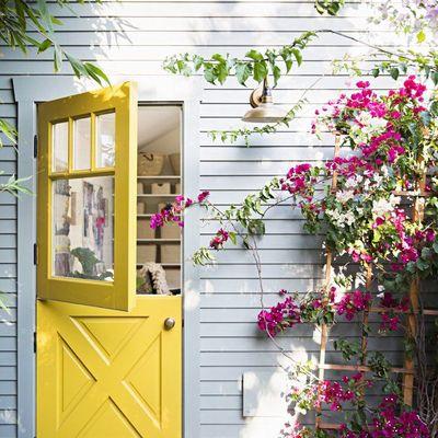 Puertas pintadas con chalk paint que te quitarán el habla