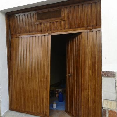 Puertas cochera precio y presupuestos online habitissimo - Puertas para cocheras ...