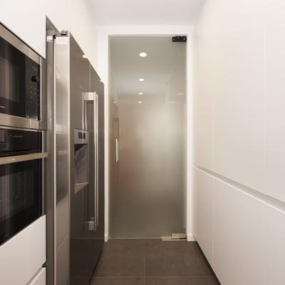 Puertas cristal cocina cocina puerta de madera de cocina with puertas de madera con cristal - Puerta cristal cocina ...