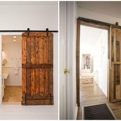 DIY: Construye tu propia puerta corredera con palés