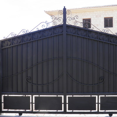 Puerta corredera modelo clasico