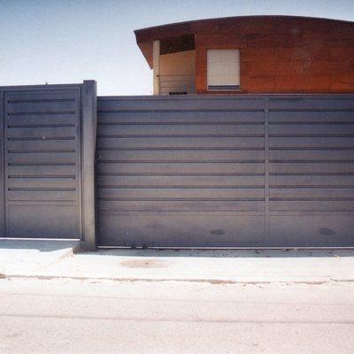 puerta garaje de aluminio