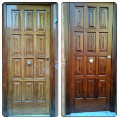 Restauración de puerta de entrada 1