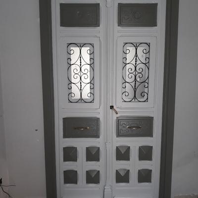 Restauracion y pintado de puertas