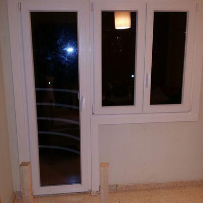 Cambio de ventanas de madera a PVC