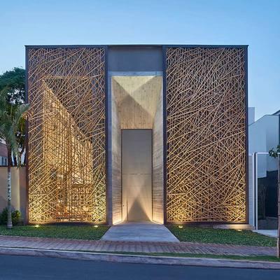 10 construcciones ecológicas con bambú