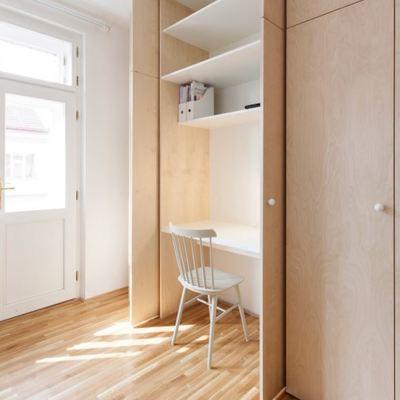 Piso con truco: reforma con mobiliario inteligente