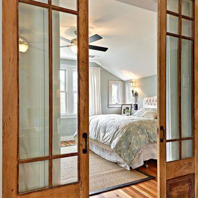 Ideas y fotos de puertas madera y cristal para inspirarte habitissimo - Arreglo de puertas de madera ...
