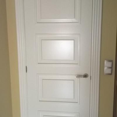 Puertas Lacadas en Blanco Roto