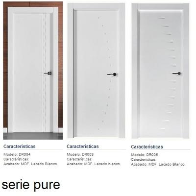 Puertas de paso de madera