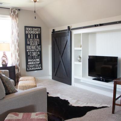 Ideas y fotos de puertas interior para inspirarte for Puertas tipo granero