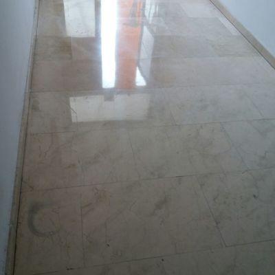 Pulido y abrillantado de portales en marmol.