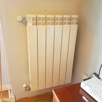 Cambió radiadores  caldera y Inst de gas natural