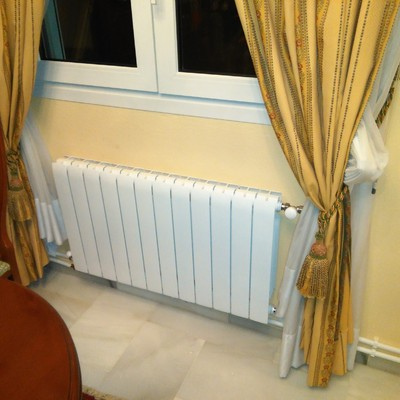 Instalación de calefacción vivienda unifamiliar