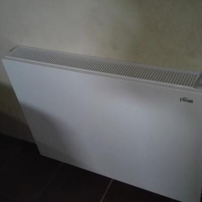 Calefacción con aerotermia y radiadores baja temperatura
