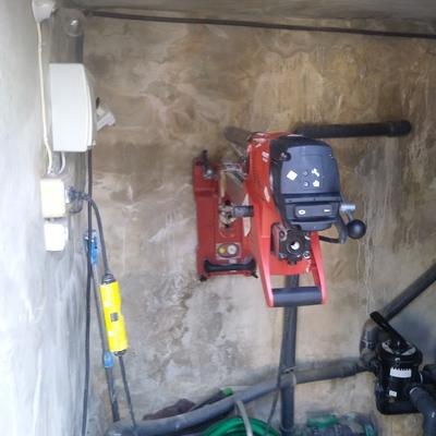 Realizacion de perforacion en muros y forjados de hormigon