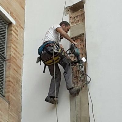 Trabajos de rehabilitacón en Sevilla
