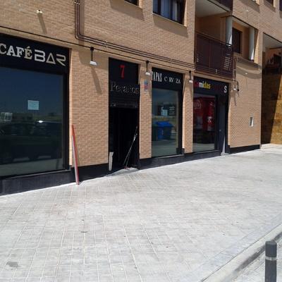 Realizacion de Terraza en Bar