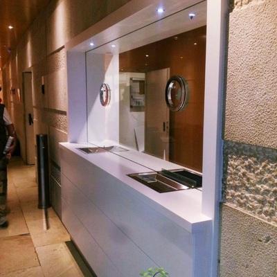 Recepción edificio Madrid