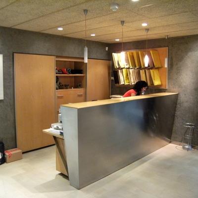 Recepción mobiliario diseños personalizado