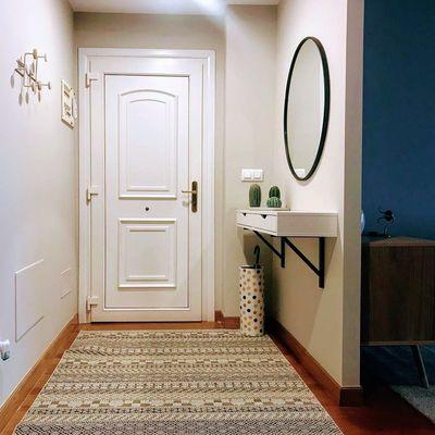 5  trucos para conseguir luz en un recibidor oscuro