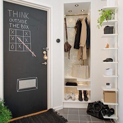 Ideas y fotos de recibidor con armario para inspirarte - Recibidor con armario ...