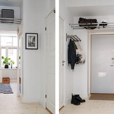 Ideas y fotos de ventanas y puertas de estilo n rdico en - Recibidor estilo nordico ...