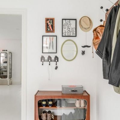 6 formas de dejar los zapatos en el recibidor de casa