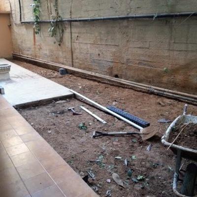 Reconversión de jardín