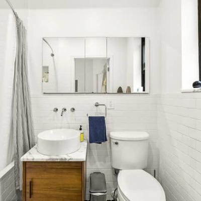 El antes y después de 5 baños anticuados