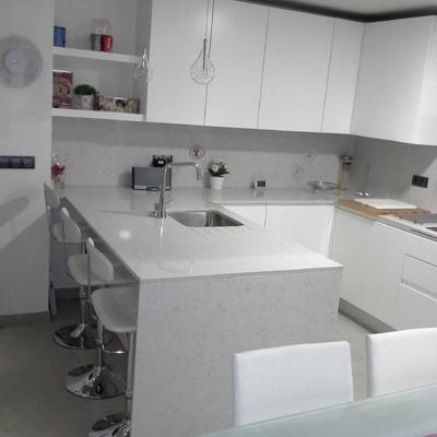 Coordinación de obra -distribución y amueblamiento de cocina completa