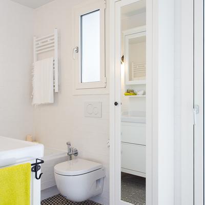 Reforma de baño retro