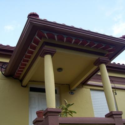 Reforma de tejado y pintado exterior