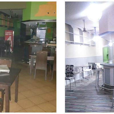 Reforma de Cafetería. Avenida de la Costa.