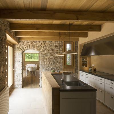 Reforma de cocina de piedra