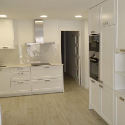 reforma de la cocina del piso