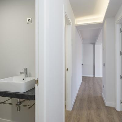 Reforma de piso moderno en Urquiza
